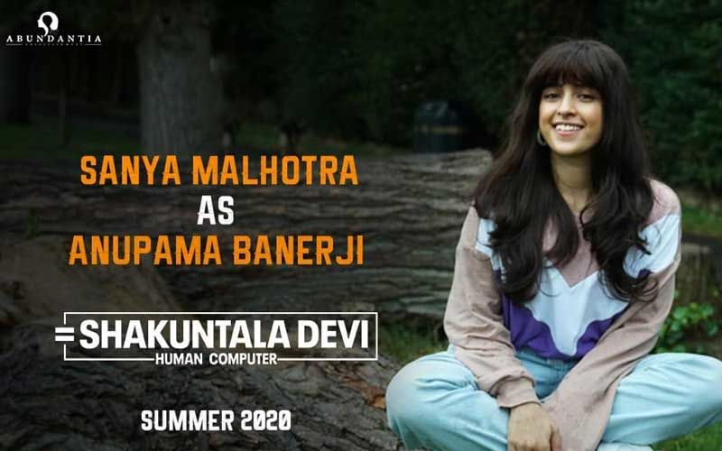 Shakuntala Devi: Sanya Malhotra Aka Anupama Banerji Looks Unrecognizable In First Look Poster
