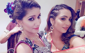 Bigg Boss 11 Rivals Arshi Khan & Sapna Chaudhary Reunite. Here's Why…