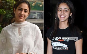 Ananya Panday Feels Motivated If There's Healthy Competition; Shares Sara Ali Khan And She Jam On Each Other's Songs - Waah