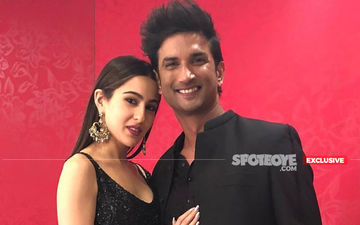 Sara Ali Khan And Sushant Singh Rajput's Invisible Kiss And Make Up