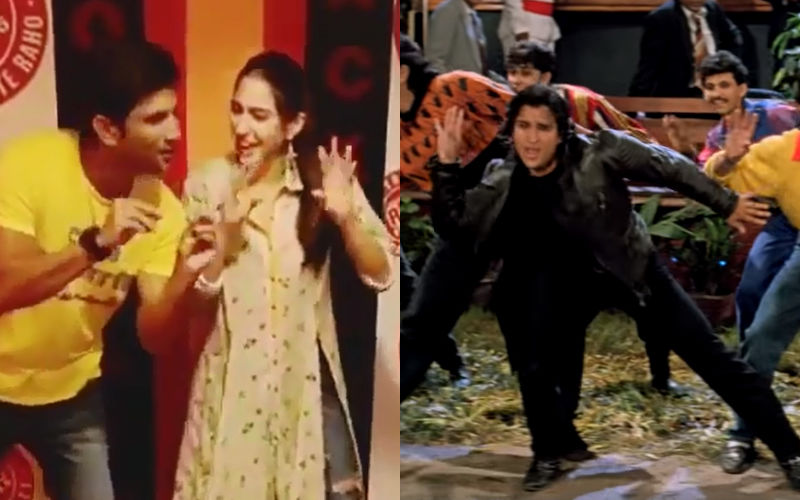 Sara Ali Khan Just Can't Get Dad Saif Ali Khan's Iconic Ole Ole Step Right - Watch Video