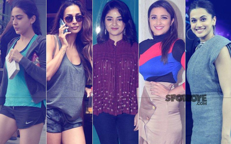 STUNNER OR BUMMER: Sara Ali Khan, Malaika Arora, Zaira Wasim, Parineeti Chopra Or Taapsee Pannu?