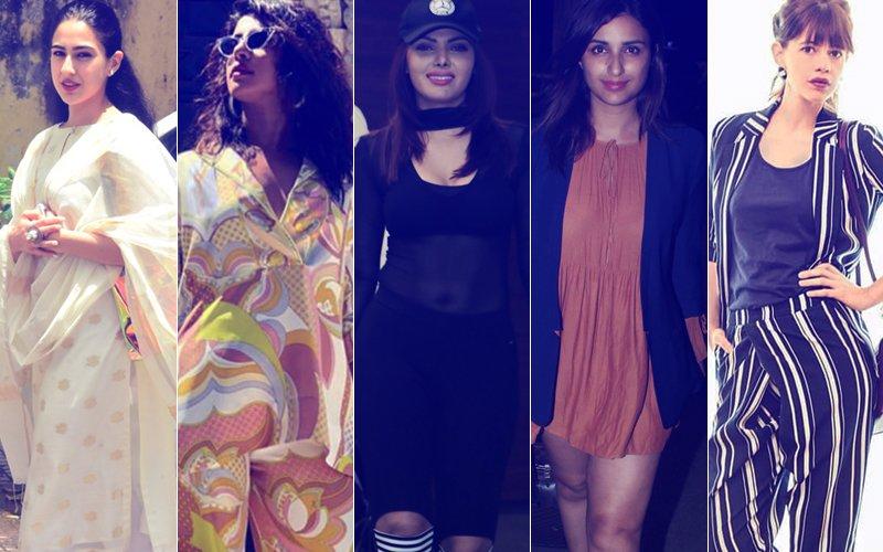 STUNNER OR BUMMER: Sara Ali Khan, Priyanka Chopra, Sherlyn Chopra, Parineeti Chopra Or Kalki Koechlin?