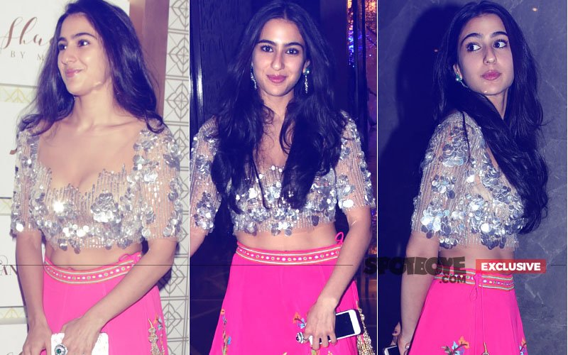 Guess Who Will Accompany Sara Ali Khan For Her 1st Shooting Schedule!