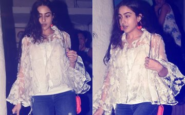 Guess Who Did Sara Ali Khan Dine With Last Night?