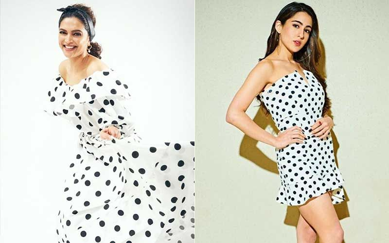 Fashion Face-Off: Deepika Padukone Or Sara Ali Khan – Who Rocked The Polka Dot Trend?