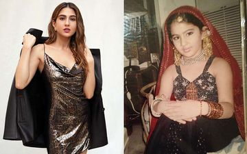 Sara Ali Khan Shares Some Throwback Childhood Pictures Of 'Sara Ka Drama'; She Was Born To Be A Star