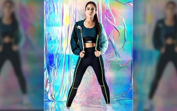"Love Aaj Kal Actress Sara Ali Khan Shares Her Fitness Journey From Flab To Fit, Says ""I Do A Lot Of Abs'"