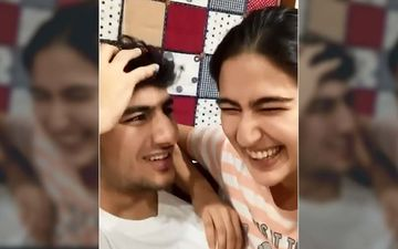 Sara Ali Khan Plays Knock-Knock With Brother Ibrahim Ali Khan But Sara's Jokes Knock Him Out – WATCH