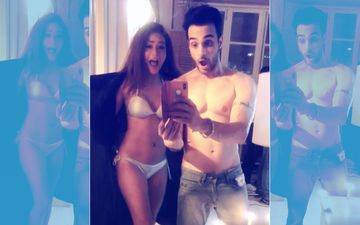 Sara Khan Poses In A Bikini With Angad Hasija. Oops! She Did It Again