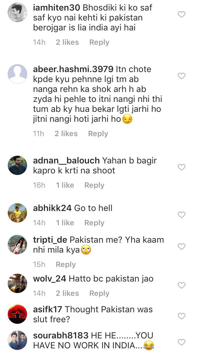 sara khan trolled on instagram for her pakistani ad