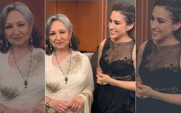 Vogue Beauty Awards 2019: Sara Ali Khan Attends The Show With Her 'Badi Amma' Sharmila Tagore