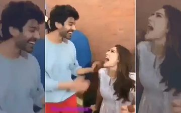 Sara Ali Khan Screams Kartik Aaryan's Name In Public! Here's What Happened Next – Watch Video
