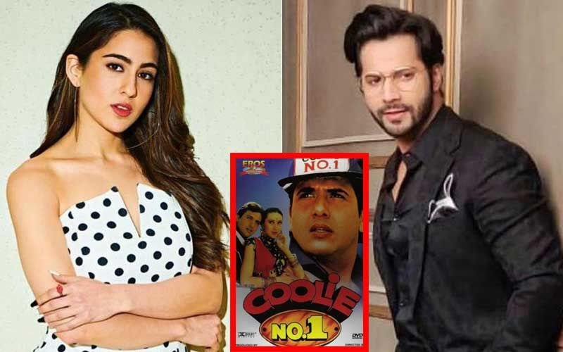 Sara Ali Khan Is Varun Dhawan's Leading Lady In Coolie No 1 Remake