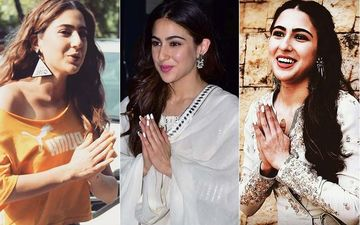 Say Namaste A La Sara Ali Khan- All The Times The Star Kid Won Hearts With Her Signature Namaste Pose