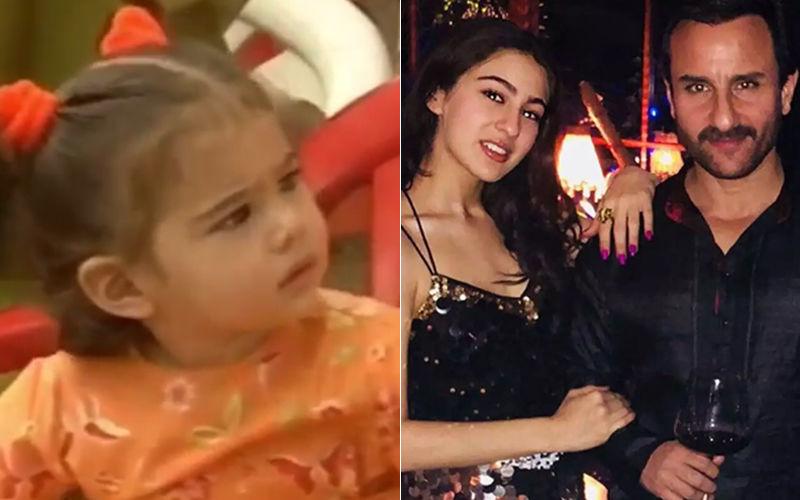 सारा अली खान के बचपन की वीडियों सोशल मीडिया पर हुई वायरल, पापा सैफ संग मस्ती करती आई नज़र