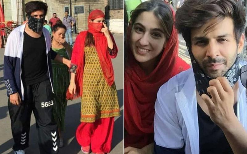 मुंह छिपाकर शिमला की सड़को पर घूम रहे थे कार्तिक आर्यन और सारा अली खान, लेकिन फैंस की नज़र से नही बच पाए