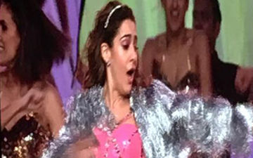 Sara Ali Khan's Performance At IIFA Awards 2019: Debutant Takes Cue From Papa Saif Ali Khan; Does Ole Ole On Stage