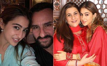 Sara Ali Khan Joins The Dreaded Nepotism Debate; Says 'Didn't Choose To Be Saif Ali Khan And Amrita's Daughter'