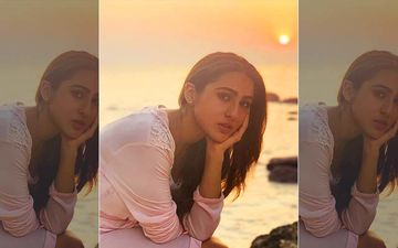 Coolie No 1: Sara Ali Khan Enjoys A Quiet Sunset Over The Sea In Goa While Shooting For Varun Dhawan Starrer