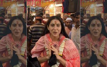 Sara Ali Khan's Visit To Varanasi Temple Calls For A Controversy, Kashi Vikas Samiti Says 'Entry Of Non-Hindus Is Prohibited'