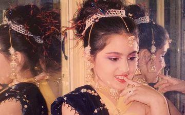 Sara Ali Khan Dons A Traditional Avatar And Calls Herself 'Mere Sapno Ki Rani' In This Cute Throwback Pic