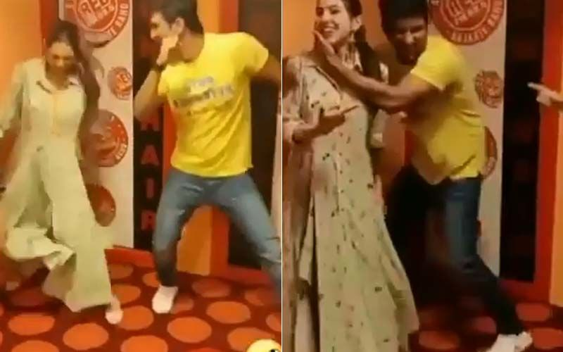 Throwback Video Of Sushant Singh Rajput Consoling Sara Ali Khan After She Failed To Match Steps On Saif Ali Khan's Song- WATCH