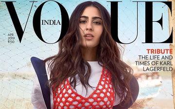 Vogue मैगज़ीन के लिए सारा अली खान ने करवाया फोटोशूट, रेड और वाइट ड्रेस में दिखा हॉट अवतार