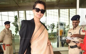 Kangana Ranaut's Short Stay In Mumbai Comes To An End; Actress Heads To The Airport To Leave For Manali Amidst Heavy Security Cover
