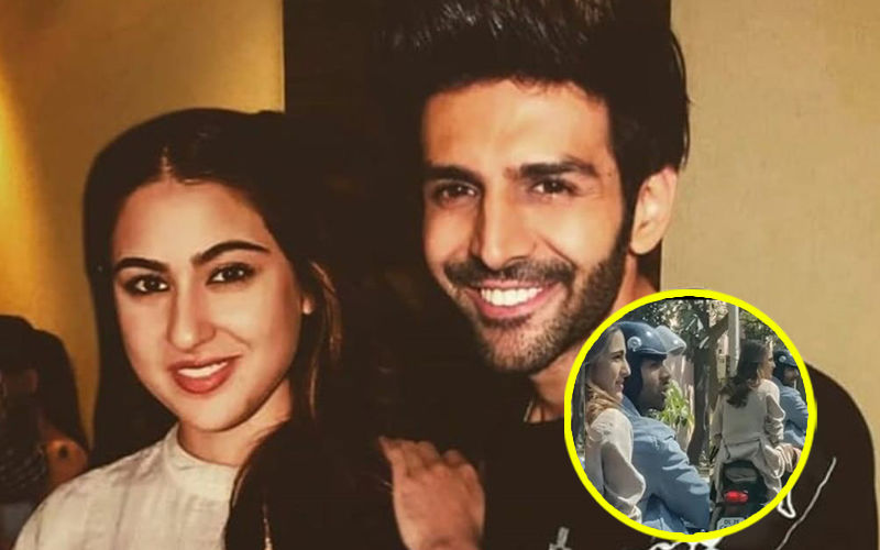 Sara Ali Khan Enjoys A Bike Ride With Kartik Aaryan, But WITHOUT A Helmet!