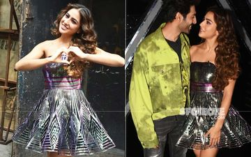 Love Aaj Kal Promotions: Sara Ali Khan Looks Like A Shiny Gift Wrap In Holographic Dress; It's Hard To Look Away