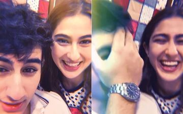 Sara Ali Khan Is Back With Her Goofy Knock-Knock Jokes, This One Leaves Ibrahim Ali Khan Facepalming-WATCH