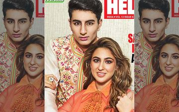 Sibling Duo Sara Ali Khan And Ibrahim Ali Khan Look Festive Ready For Their First Cover Ever For A Lifestyle Magazine