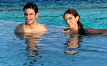 Sara Ali Khan And Ibrahim Switch From Sweet To Serious In A Matter Of Seconds; Siblings Bring In 2020 In Maldives - Pics Inside