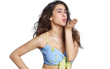 Sara Ali Khan's Latest Close-Ups Scream Beauty; The Coolie No 1 Actress Is Beauty Personified