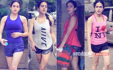 Jhagda Khatam: Sara Ali Khan Rolls Up Her Sleeves, Once Again