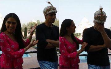 Atrangi Re: Akshay Kumar Disapproves Of Sara Ali Khan's Shayari; Says, 'Isse Ghatiya Rhyme Aaj Tak Nahi Hua' - VIDEO