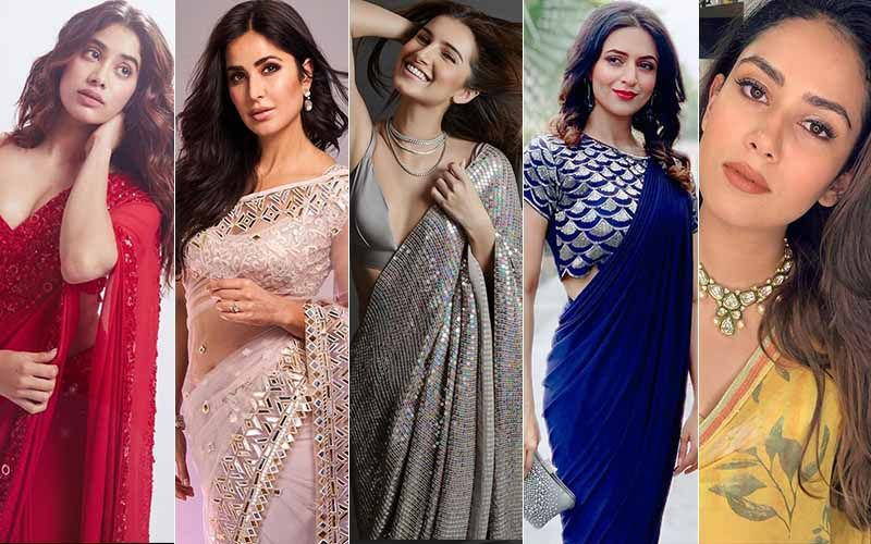 Saree, Not Sorry; 5 Smokin' Trends Inspired By Mira Rajput, Divyanka Tripathi, Tara Sutaria, Janhvi Kapoor, Katrina Kaif