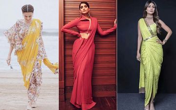 How To Wear A Saree: Seek Inspo From Taapsee Pannu, Sonam Kapoor, Shilpa Shetty On Draping The 9 Yard Wonder