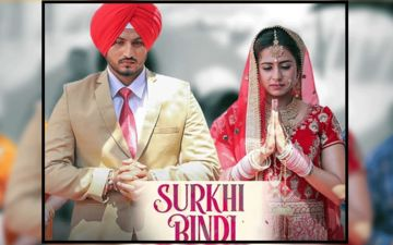 Sargun Mehta And Gurnam Bhullar Starrer 'Surkhi Bindi' First Look Poster is Out