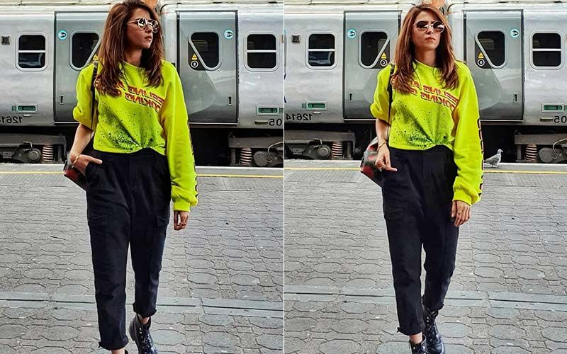 Sargun Mehta Gets On The 'Neon' Bandwagon, Gives Style A New Definition