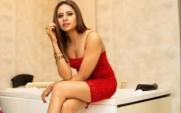 Sargun Mehta Is Giving Us 'Laal Vibes' In Red Short Dress, See PICS