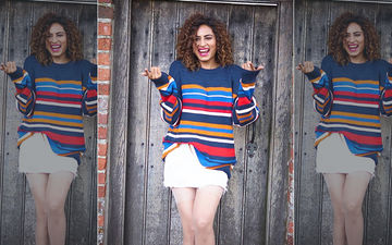Sargun Mehta Just Showed Us A Stylish Way To Wear A Multi-Coloured Sweater