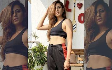 Sargun Mehta Ups Mercury Level, Flaunts Drool-Worthy Abs