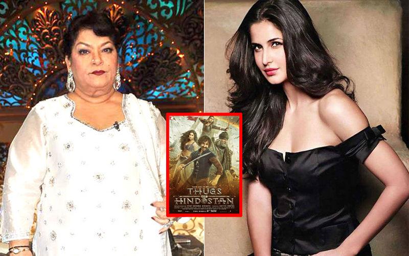 Saroj Khan Lost Thugs Of Hindostan, Courtesy Katrina Kaif