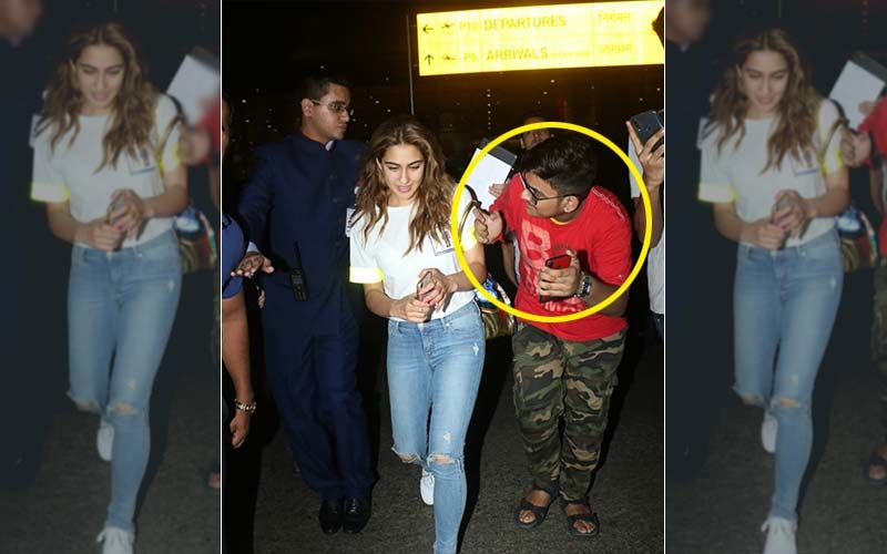 Sara Ali Khan's Airport Selfie Gives MP Family Their Missing Son Back