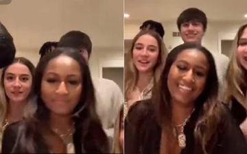 Barack Obama's Younger Daughter Sasha Obama Could Become The Next Social Media Star; Watch Her TikTok Video To Believe Us