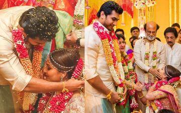 रजनीकांत की बेटी सौंदर्या ने भव्य समारोह में विशागन के साथ शादी की