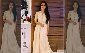 Sayali Sanjeev's Traditional Avatar In A White Anarkali Gown Will Make You Swoon
