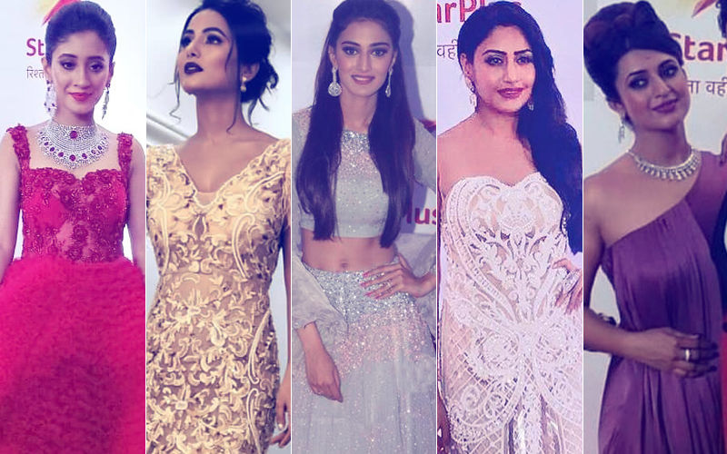 BEST DRESSED And WORST DRESSED At Star Parivaar Awards 2018: Shivangi Joshi, Hina Khan, Erica Fernandes, Surbhi Chandna Or Divyanka Tripathi?